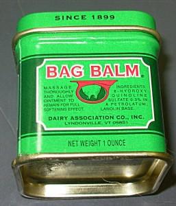 Bag Balm for hot spots on Golden retrievers