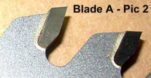 Assessing saw blade quality by examining the brazing