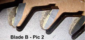 Examining Saw blade quality - Brazing imperfections