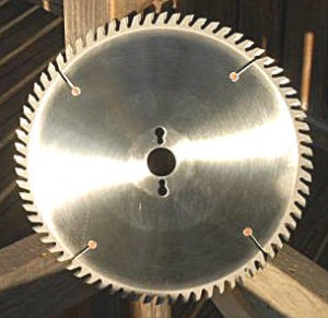Saw blade, custom built and the best in the world