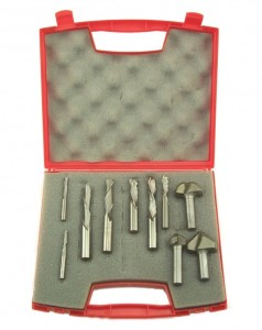 CNC Router bit set - nine most common