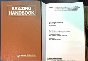 Brazing Handbook AWS - cheap or free