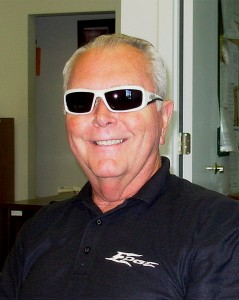 Totally Cool Edge Eyewear safety glasses as worn by Gary Tucker
