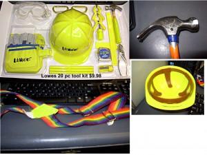Tool kit for kids - Lowes 20 pc tool kit