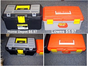 Kid's Tool Box Comparison - tool boxes
