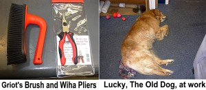 Wiha Tools Quality and Lucky, The Old Dog