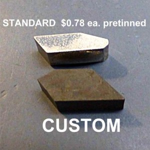 custom carbide saw tips