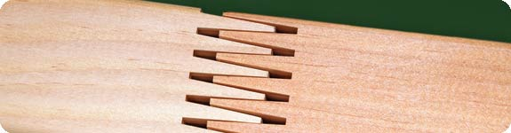 Box Joints (or Finger box Joints):