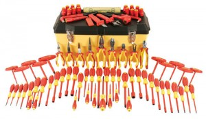 wiha 80 pc Electrician tool set