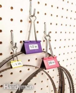 bandsaw hangers