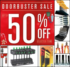 Doorbuster Collage