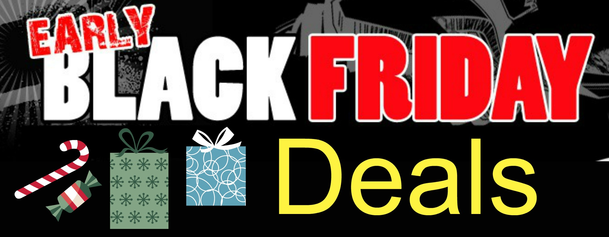 black deals friday now